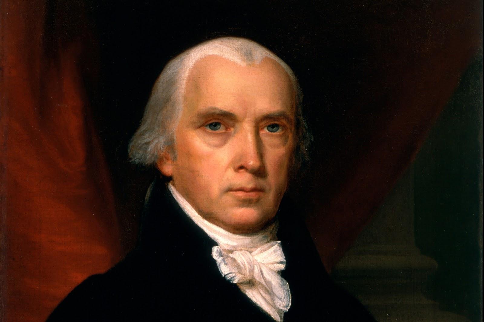 James Madison, portrait by John Vanderlyn
