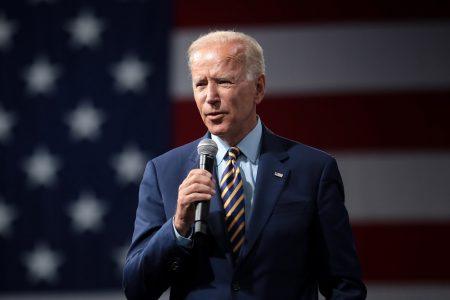 Joe Biden, kickoff rally