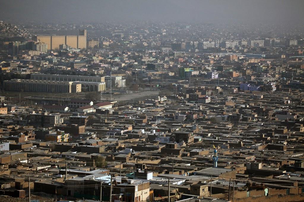 Kabul, polluted, metropolis