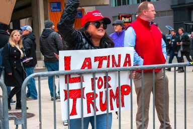 Latino, Donald Trump, supporter
