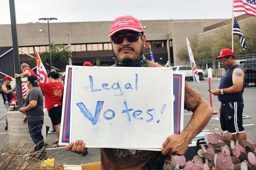 Legal Votes, sign, Arizona