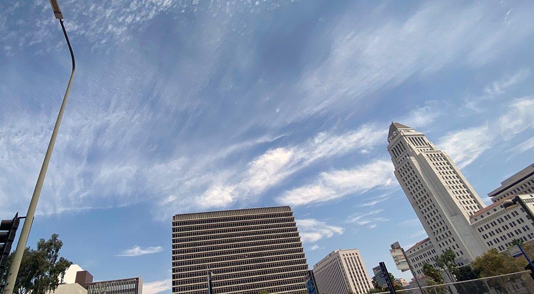 Los Angeles, pandemic