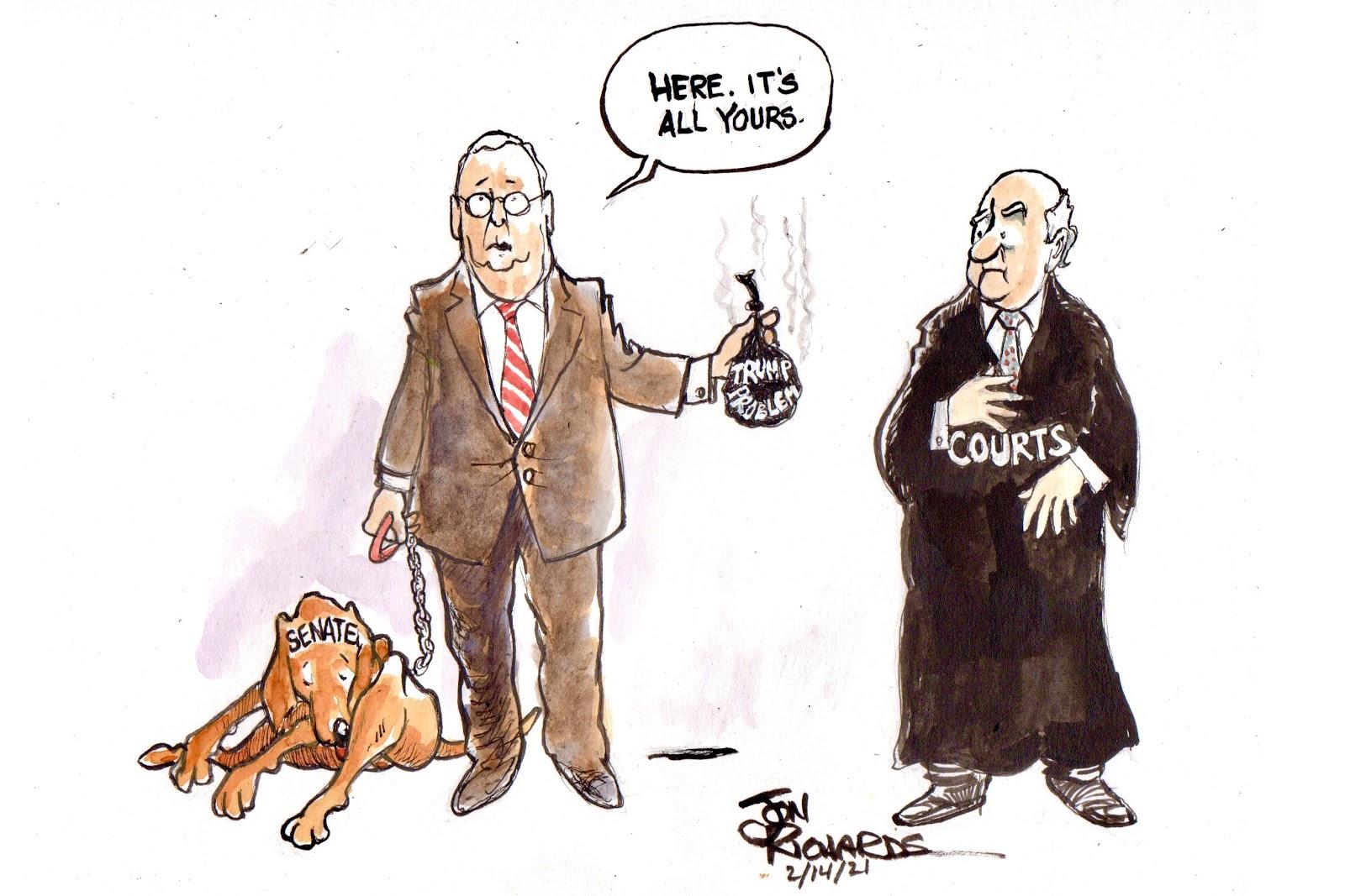 Mitch McConnell, Impeachment, Donald Trump