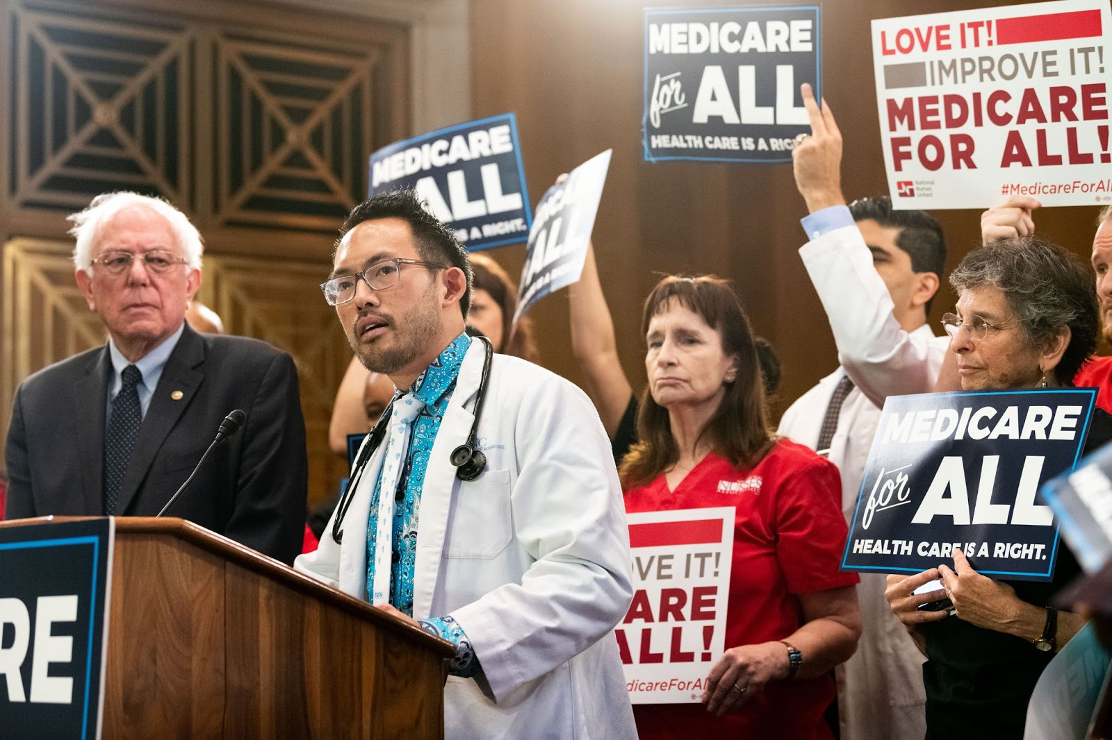 Bernie Sanders, Medicare for All Act of 2019
