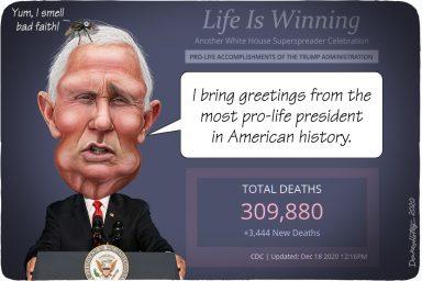 Mike Pence, coronavirus, life