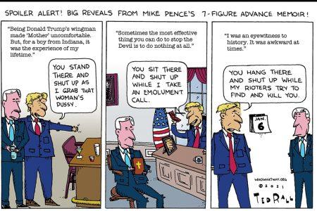 Mike Pence, Donald Trump