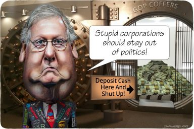 Mitch McConnell, corporations