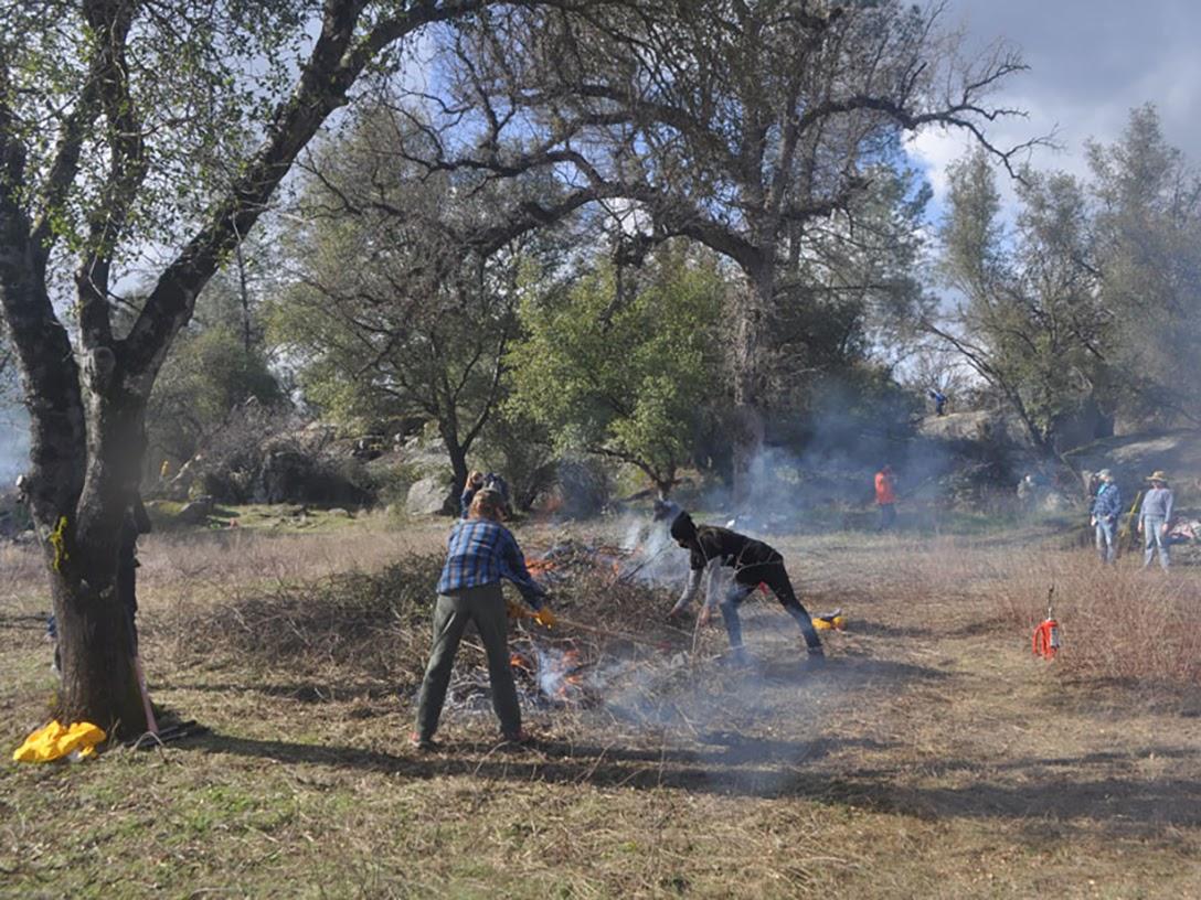 Mono Tribe, cultural burning, Mariposa, CA