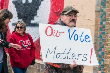 our vote matters
