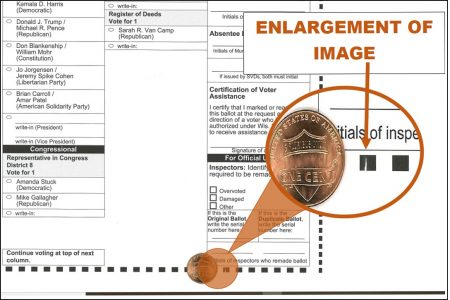Outagamie County, WI, Bad Ballot