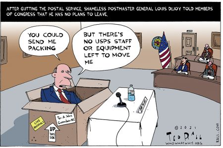 Louis DeJoy, US Postal Service