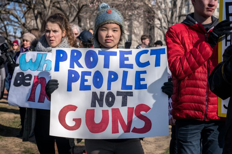 National Walkout Day, Protect People Not Guns
