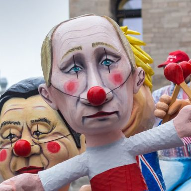 Russian Leaders and Dissidents Come and Go, but Humor Never Dies
