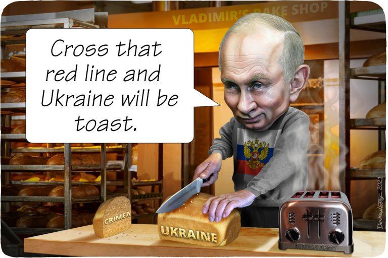 Vladimir Putin, bread, Ukraine