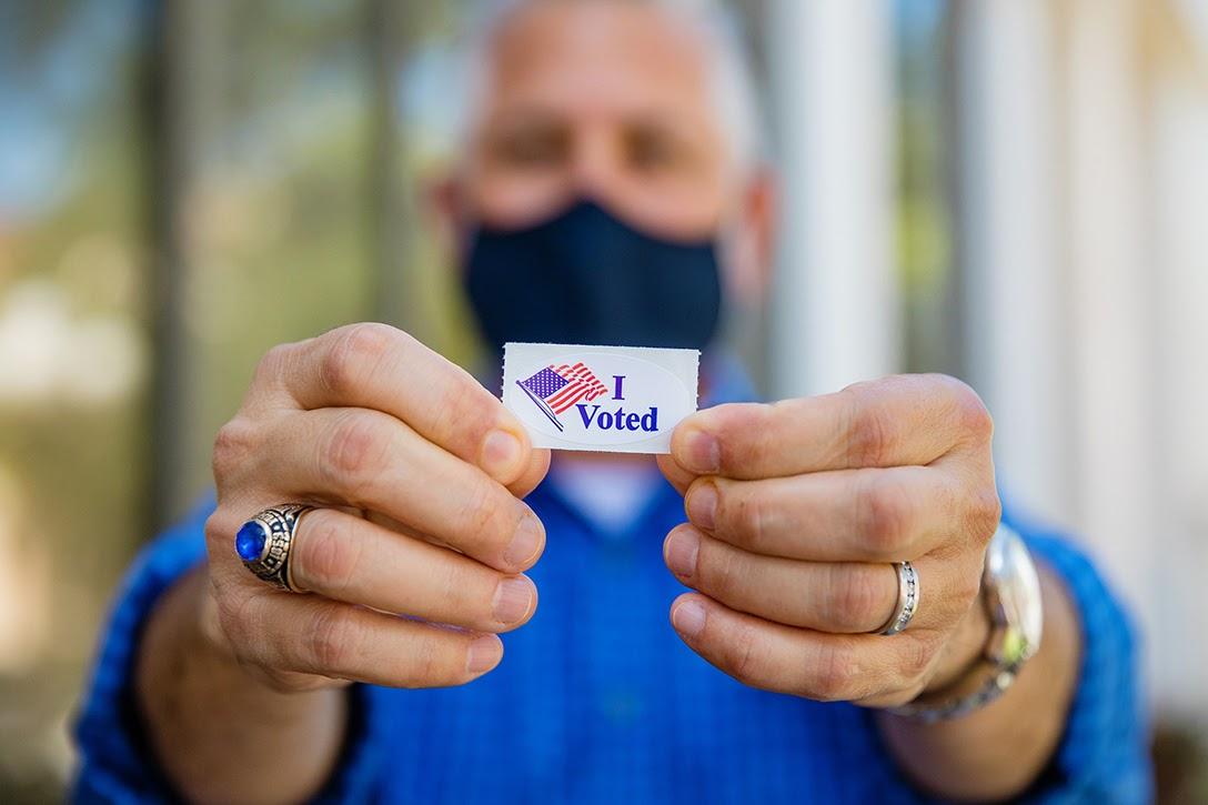 Rick Kriseman, I voted