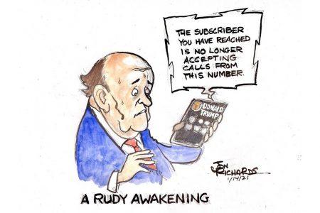 Rudy Giuliani, Donald Trump