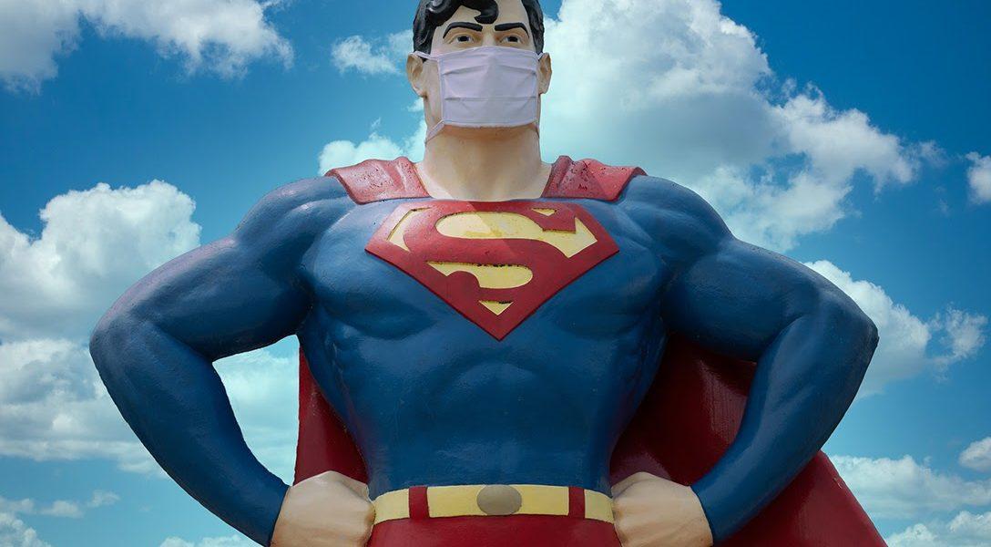 Supermen, mask