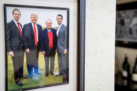 Trump Family, Donald Trump, Jack Nicklaus