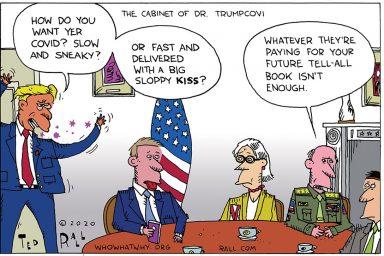 Donald Trump, Superspreader