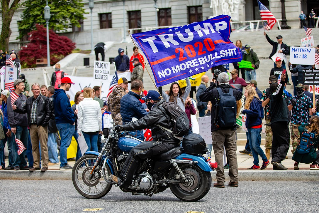 Trump, supporters, Harrisburg, PA
