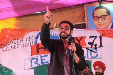 Umar Khalid, Shaheen Bagh