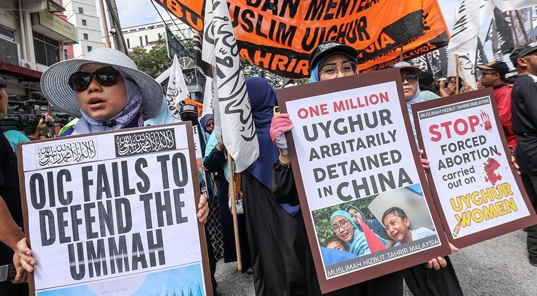 Uighur, Protest, Kuala Lumpur