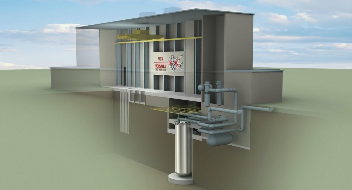 Versatile Test Nuclear Reactor
