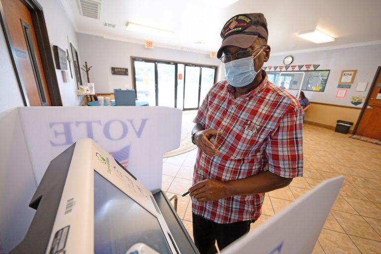 voter, ExpressVote, Texas
