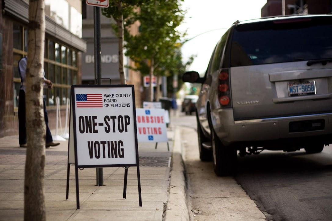 Wake County, North Carolina, Curbside Voting