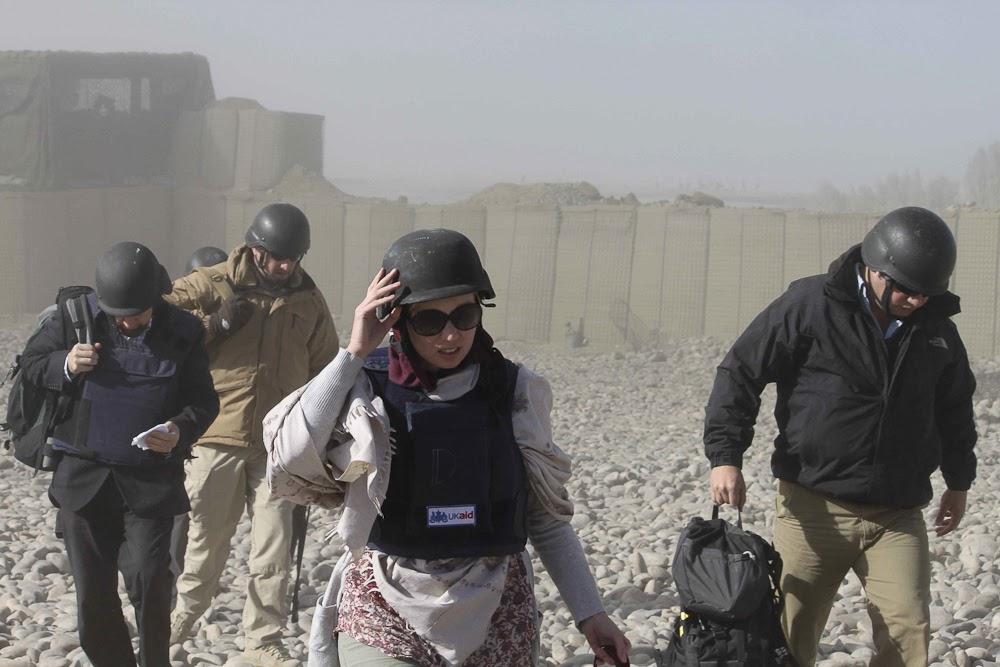 Western aid workers, Afghanistan