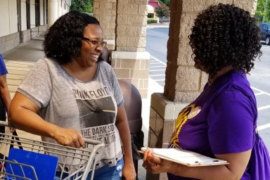 Women Engaged, voter registration