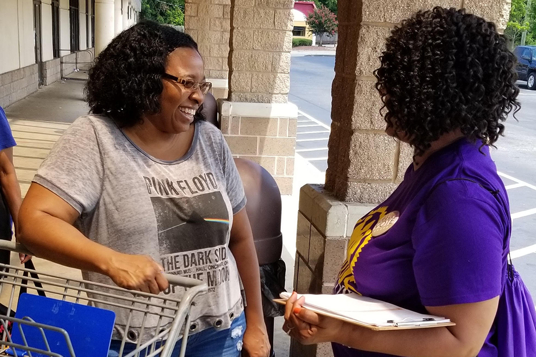Women of Color Lead On the Ground in Georgia