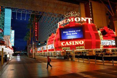 Empty Streets In Las Vegas
