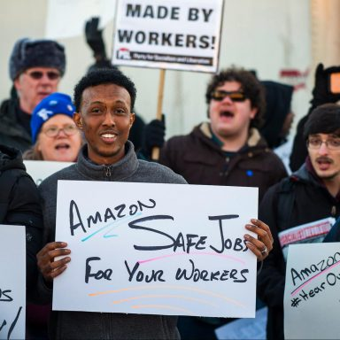 Amazon Faces Biggest Union Push in Its History