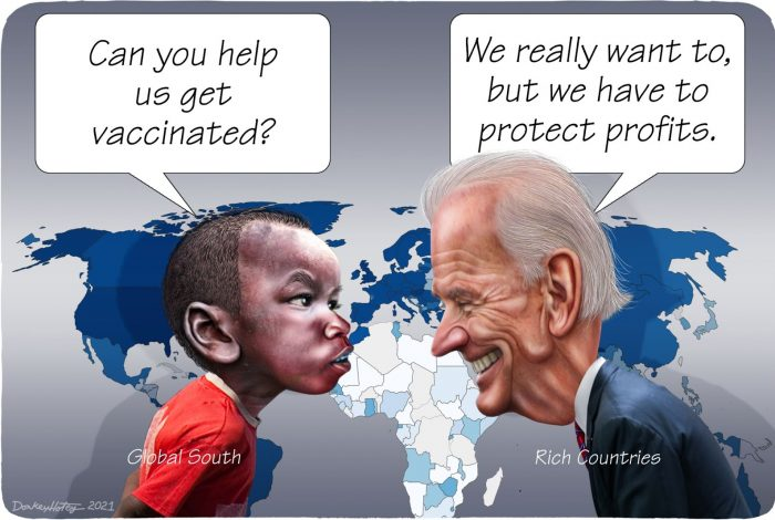Joe Biden, COVID-19, vaccine patents