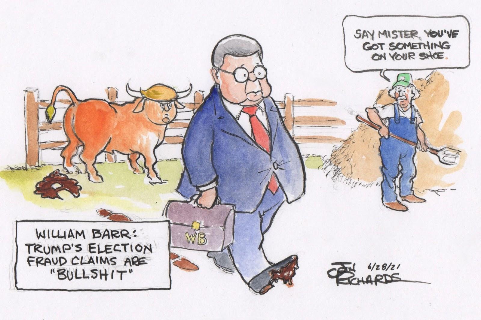 William Barr, Election Fraud, Donald Trump