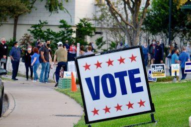 Ben Hur Shrine Center, voting