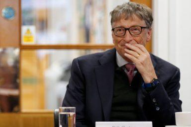 Bill Gates, Scotland, 2018
