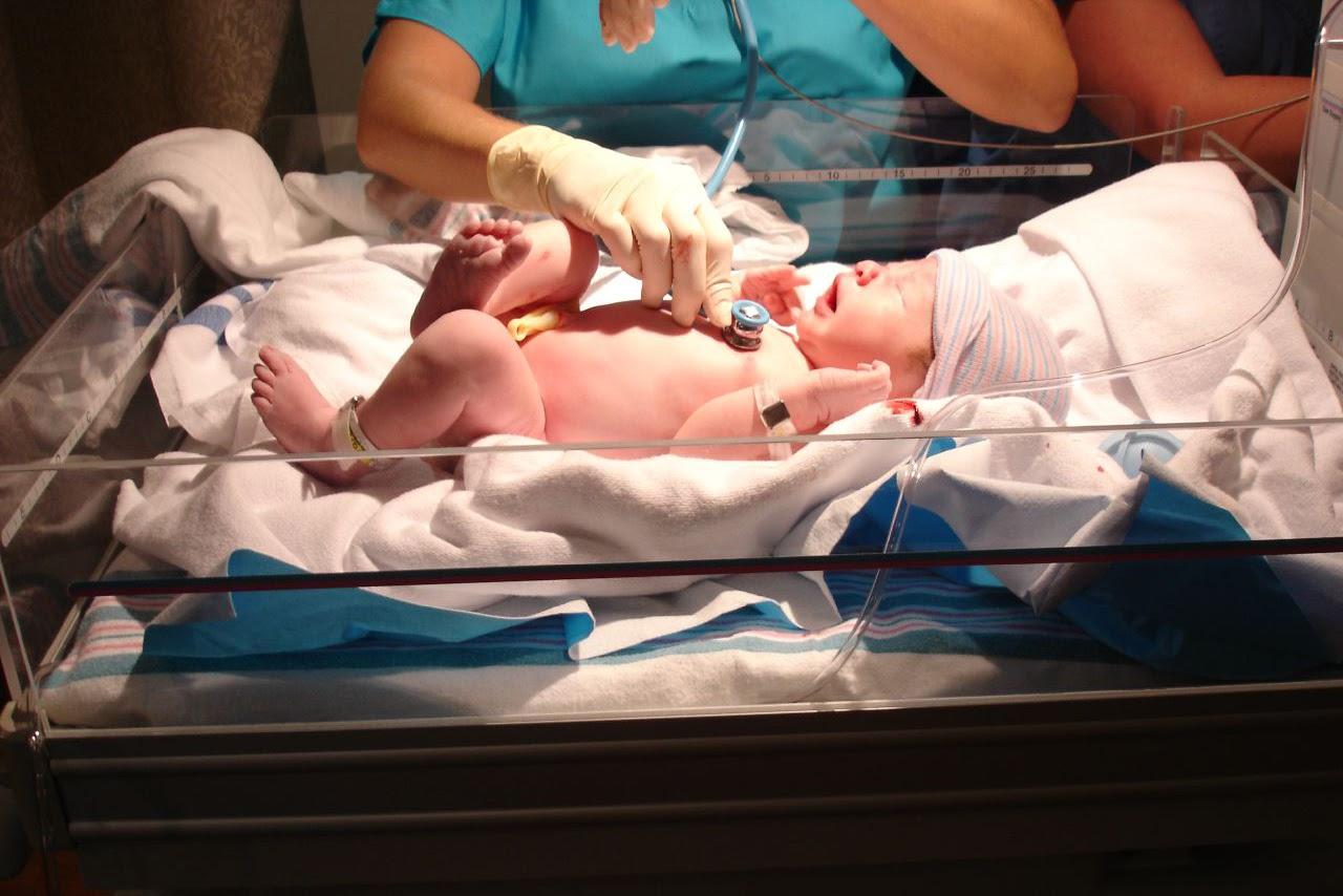Newborn Chinese baby