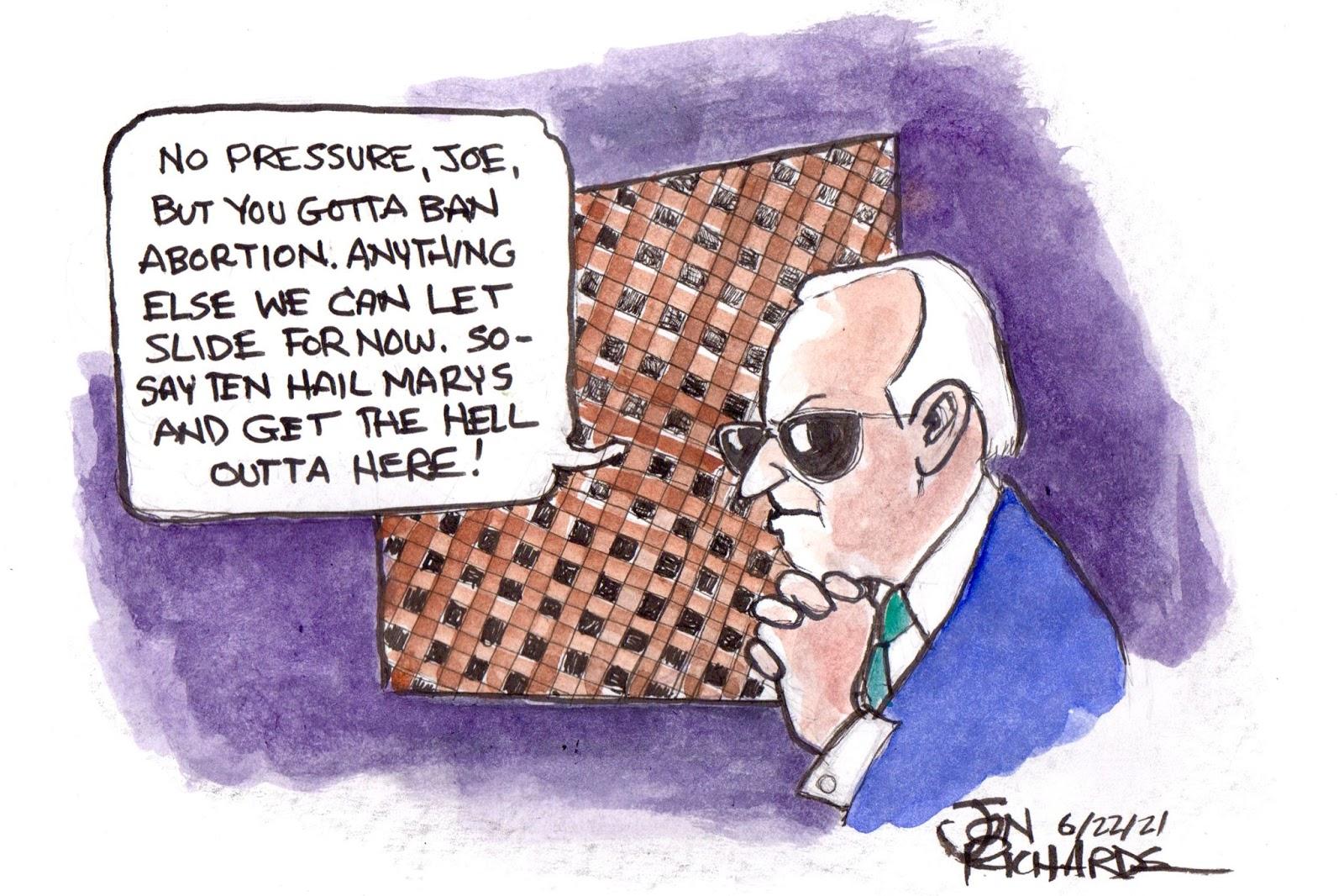 Joe Biden, Catholic, confession