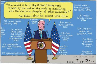 Joe Biden, Election Interference