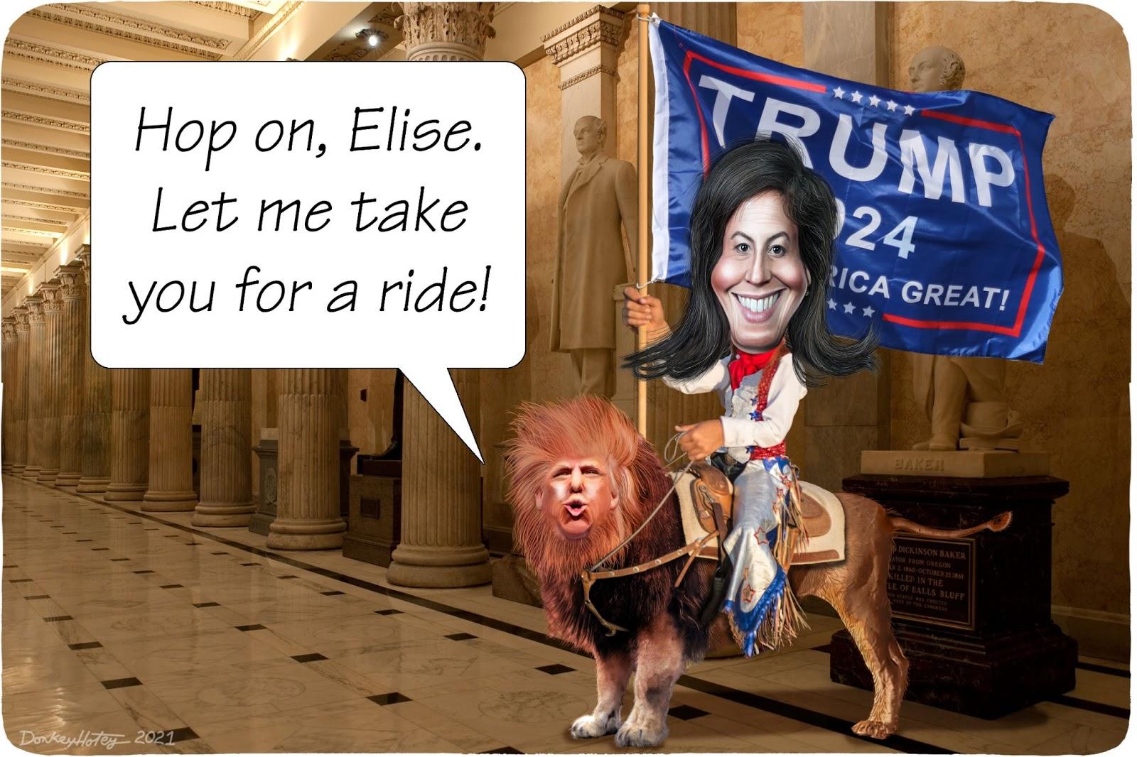 Elise Stefanik, Donald Trump, GOP