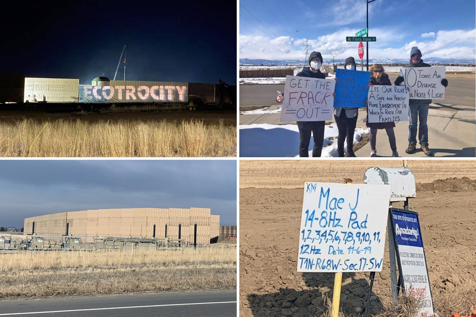 fracking, rally, protest, Erie, CO