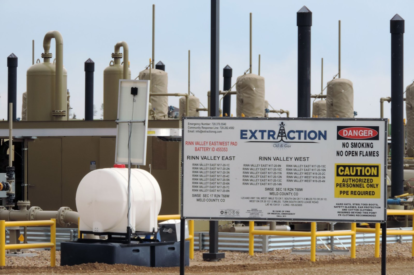 Extraction Oil and Gas, Weld County