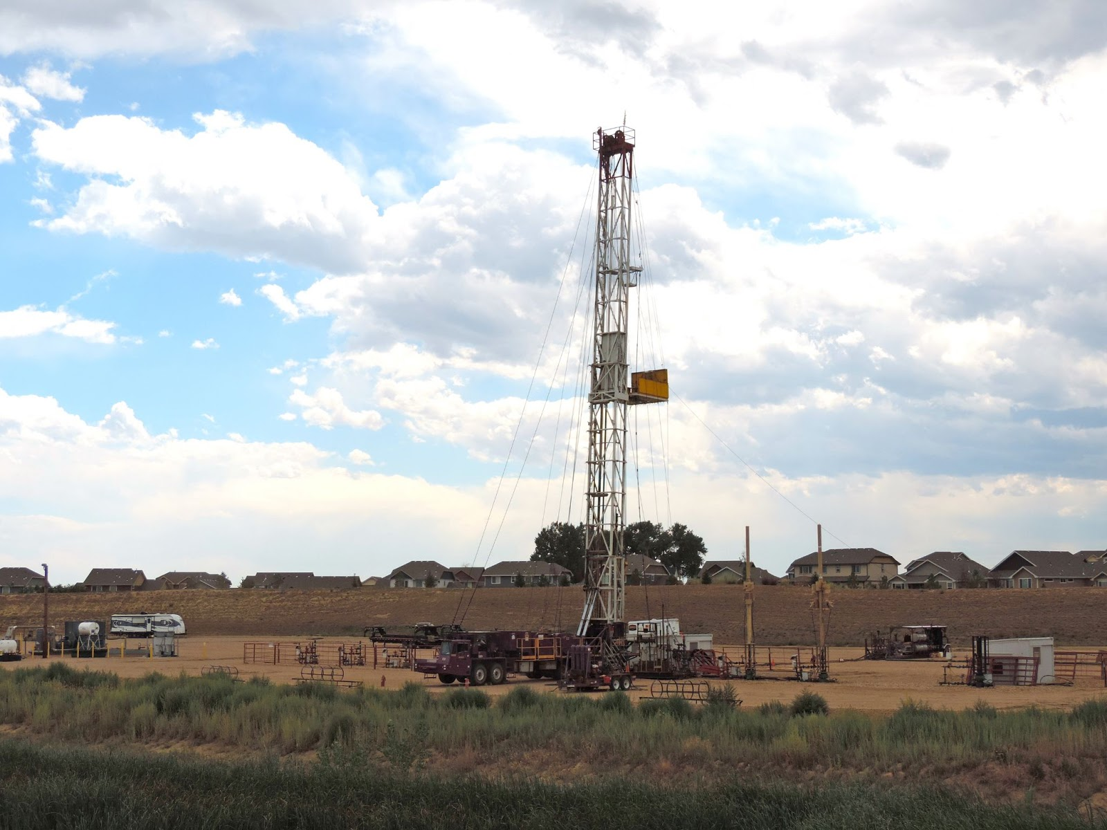 Fracking site, Weld County