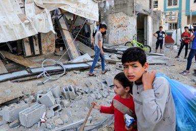 Gaza Strip, Israeli airstrikes