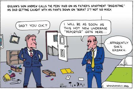 Andrew Giuliani, Rudy Giuliani