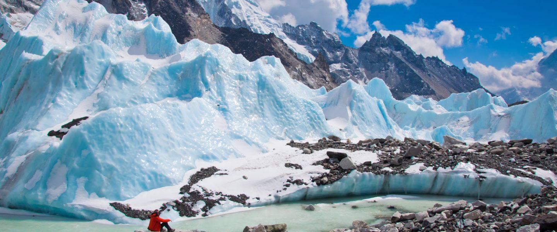 Glacier, Mount Everest, Base Camp