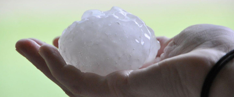 hailstones, hand
