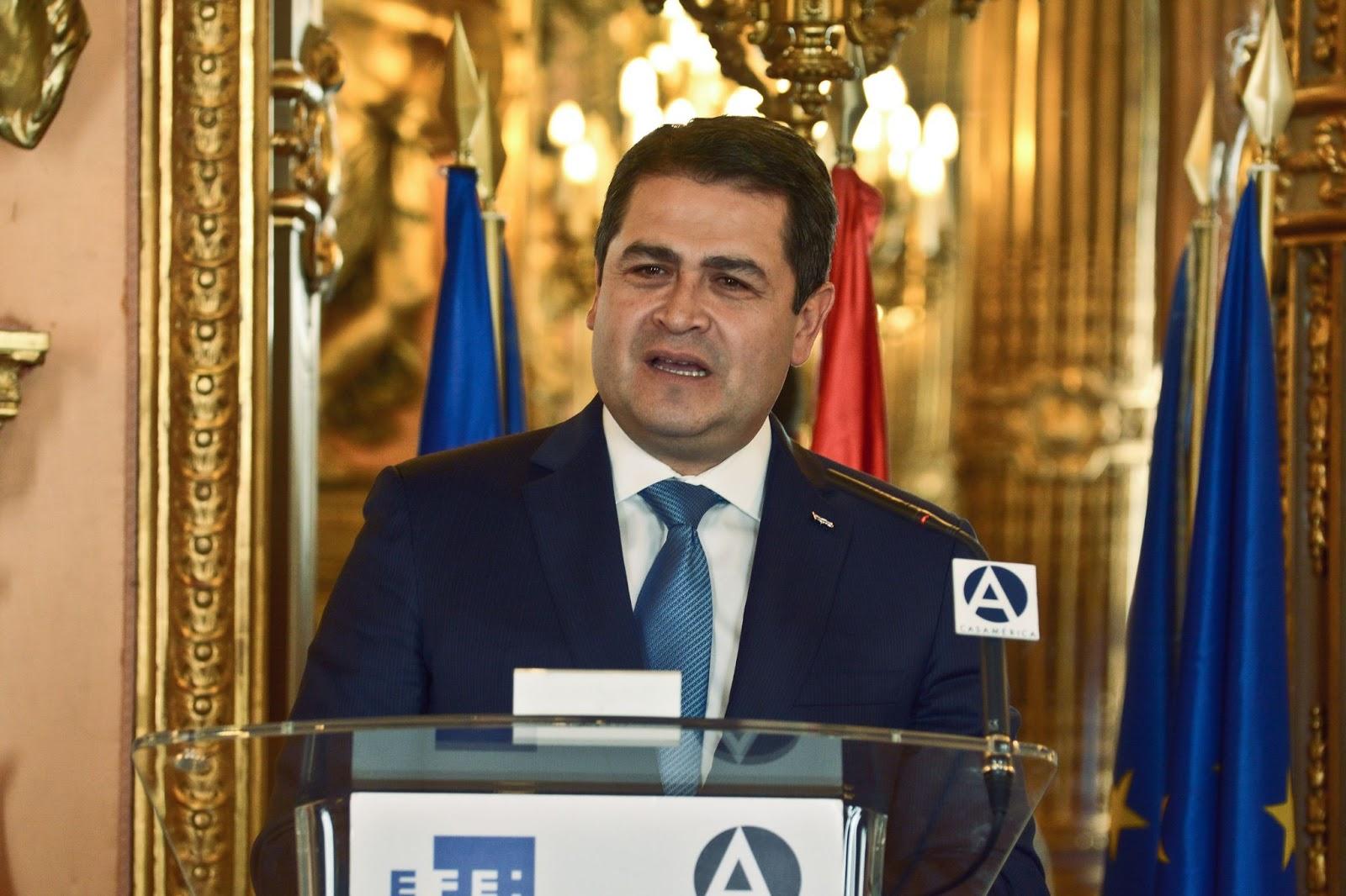 Honduras, President, Juan Orlando Hernández